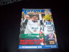 Luton Town v Peterborough United, 1996/97